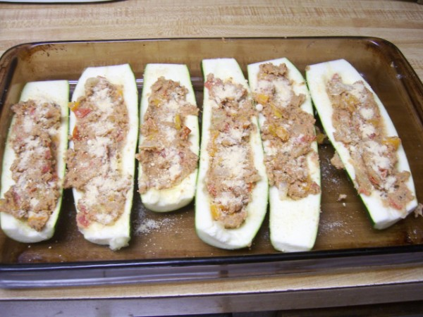Stuffed Zucchini Nancy Walker Healthy Eating