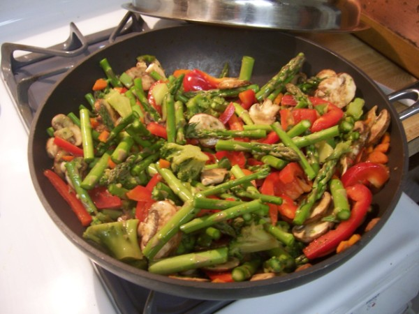 Healthy Pasta Primavera | Nancy Walker