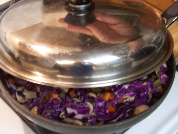 cabbage stir fry, nancy walker, healthy recipes